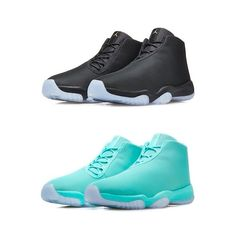 The 'BLACK CLEAR' & 'HYPER JADE' editions of the #NIKE AIR #JORDAN FUTURE launch tomorrow morning, SATURDAY 5.7.14. RELEASE PAGE up on www.tddhq.com now, ahead of the drop! #thedropdate