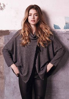 Doutzen Kroes Looks Cozy Chic in Repeat Cashmere - Fashion Gone Rogue