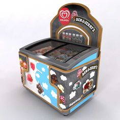 Boomerang | Galería Chest Freezer, Pop Display, Point Of Purchase, General Store, Toy Chest, Decorative Boxes, Ice Cream, Kiosk, Bakery