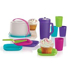 Are you looking for the Vintage Tupperware Toys? Come see what Tupperware Toys are available! Multi Color Cake, Tupperware Vintage, Tupperware Consultant, Summer Snacks, Colorful Cakes, Mini Cakes, Food Storage, Kitchenware, Tea Party