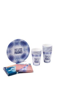 party plate set 20