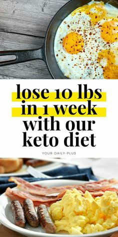7 day keto diet menu to lose 10 pounds in just 1 week. This low carb weight loss plan (the ketogenic diet) helps you burn fat and lose weight super fast. Eat a wide variety of delicious keto meals while losing weight and burning fat on a keto diet. Ketogenic Diet Meal Plan, Ketogenic Diet For Beginners, Keto Diet Plan, Diet Meal Plans, Ketogenic Recipes, Diet Recipes, Healthy Recipes, Diet Menu, Beginners Diet