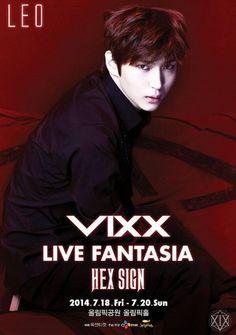 VIXX LIVE FANTASIA 'HEX SIGN' POSTER - Leo