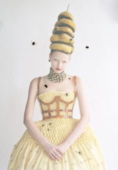 N°124 Avant Garde Headdress #10 (Vogue March 2013, Tim Walker)