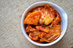 Kimchi - I want to try making this sometime.