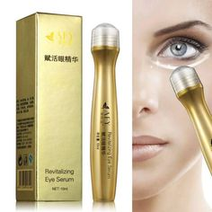 24K GOLDEN REVITALIZING EYE SERUM    Works amazing for dark circles, puffiness, bags, tired, and swollen eyes - anti aging treatment, hydrating, firming & diminished wrinkles, fine lines, and crows feet.  BUY IT NOW - $29.95