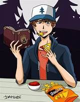 bill dipper - - Image Search Results Doritos, Bill X Dipper, Dipcifica, Gravity Falls Bill, Dipper Pines, Billdip, Anime Love, Art Gallery, Fandoms