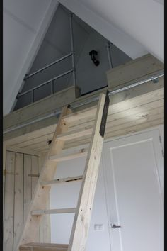 6 Simple and Crazy Tricks: Finished Attic Couch attic studio slanted walls.Attic Before And After Built Ins attic bar. Attic Apartment, Attic Rooms, Attic Spaces, Apartment Therapy, Attic Playroom, Attic Loft, Bedroom Loft, Attic Theater, Attic Bed