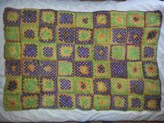 Granny squares Granny Squares, Blanket, Crochet, Ganchillo, Blankets, Cover, Crocheting, Comforters, Knits