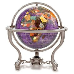 Globes, World Globes & Gemstone Globes from OnlyGlobes.com-Free Shipping!