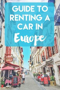 Planning on renting a car in Europe? It can be tricky! This guide will show you all the tips and advice on renting a car without dealing with any hassles! europe road trip route, europe road trip tips, car rental tips Road Trip Europe, Europe Travel Tips, European Travel, Travel Advice, Travel Guides, Trip Advice, Travel Hacks, Backpacking Europe, Travel Plan