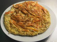 Wortel-kaas tortilla - vegalekker.com