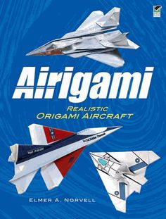 "Fold realistic replicas of 19 planes — 10 airworthy, 9 for display. Models include the Concorde, F-16 Fighting Falcon, F-117 Nighthawk, and XB-70 Valkyrie. A CD-ROM contains bonus photos, full-color ""skins,"" and additional models. Sale Price › $11.96"