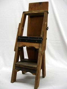 Amish Handcrafted Library Step Stool Chair Combo | М. ЛАВКИ/ СТУЛЬЯ  СКЛАДНЫЕ | Pinterest | Stool Chair, Stools And Solid Wood