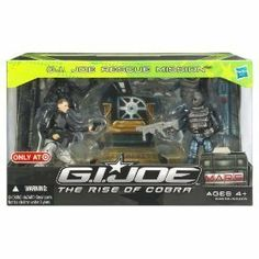 G.I. Joe: The Rise of Cobra - Rescue Mission by Hasbro, http://www.amazon.com/dp/B001QV16YQ/ref=cm_sw_r_pi_dp_Io5isb1Z647Q2