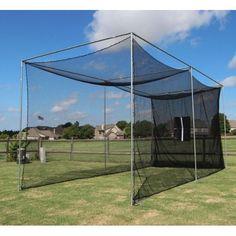 Cimarron 20x10x10 Masters Golf Net with Complete Frame #GolfNet #MasterGolfer