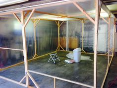 Making my paint booth