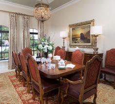 CEBULA DESIGN: Dining Room in Bradenton, FL #cebuladesign #interiordesign #diningroom
