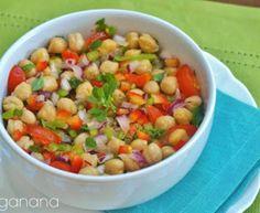 Salada Colorida de Grão de Bico