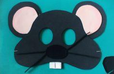 Moldes de mascaras de animales