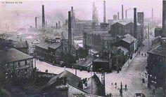 Westgate / Trafalgar St. view of the Weaver's Triangle Burnley c.1900.