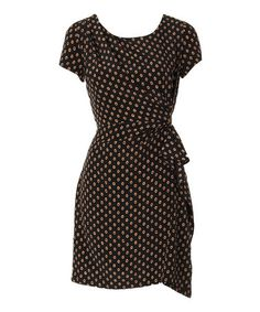 Take a look at this Black Kayven Dress by Louche on #zulily today!
