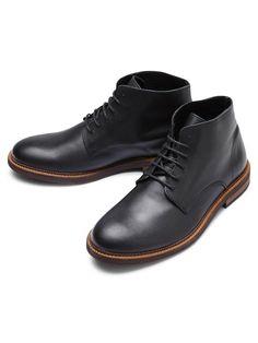 SELECTED Boots noir classique Sel Corfitz - Vêtements homme, manteau homme, parka homme