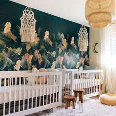 25 Adorable Nursery Room Ideas For Baby Twins - Decor Home Twin Baby Rooms, Baby Bedroom, Twin Nurseries, Room Baby, Nursery Twins, Nursery Room, Baby Twins, Twin Babies, Baby Boys