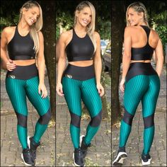 Best Sporty Outfits Part 4 Leggings Store, Cheap Leggings, Gym Leggings, Sports Leggings, Womens Workout Outfits, Sporty Outfits, Legging Academia, Crop Top And Leggings, Printed Leggings