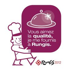 The Rungis Sticker is a sign of your status as a buyer in Rungis. It helps in spreading positive values about Rungis to your customers. North Face Logo, Macarons, Positivity, Logos, Catering Business, Logo, Macaroons, Optimism