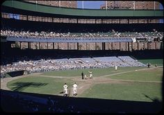 The Polo Grounds Baseball Park, Sports Baseball, Baseball Field, Baseball Stuff, New York Stadium, Stadium Tour, Shea Stadium, Yankee Stadium, Polo Grounds