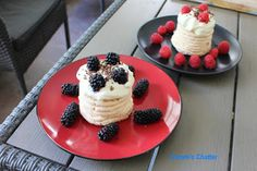 Carole's Chatter: Cute Mini Pavs Chocolate Sprinkles, Easy Peasy, Whipped Cream, Quotations, Waffles, Fruit, Breakfast, Mini, Cute