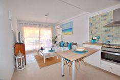 Acogedor apartamento con vistas al mar para alquilar en Calpe (Alicante)