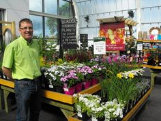 Noel Golden our very own horticulturist with a wealth of experience at our Westport Garden Centre