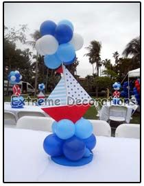Party Decorations Miami | Party Centerpieces