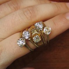 Our New Engagement Rings, from Doyle & Doyle