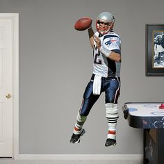 1000 Images About New England Patriots Kids Diy Bedroom Decor For Boys Girls Fathead Wall