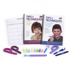 An Oral Motor Workout Kit complete with two books of exercises and all of the basic tools to start a sensory oral motor treatment plan.  Work on oral awareness, jaw  stability, lip movement, tongue movement, and other #oralmotor goals.  Visit http://www.arktherapeutic.com/OMWKAR.html to learn more