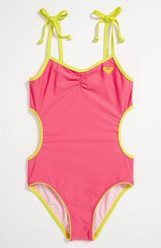 Roxy One Piece Swimsuit (Big Girls) available at #Nordstrom