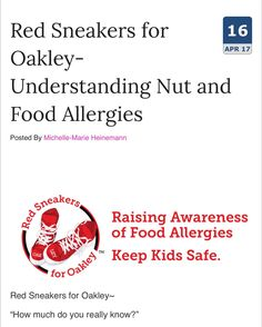 "Understanding nut and food allergies: Proactivity from ""non food allergy"" moms is just as crucial as proactivity from moms of children with #foodallergyawareness"