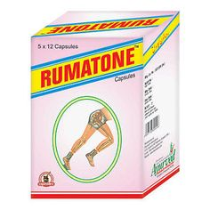 Rumatone capsule is one of the ayurvedic remedies for arthritis joint pain. You should consume this herbal capsule two times daily with water for 90 or 120 days to get relief from arthritis joint pain, stiffness and inflammation.