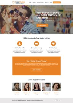 Registration Page, PHP Social Dating Script