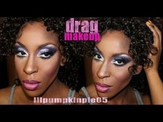 *sigh* someday I will be skilled enough to do this. This makeup is definitely not easy. Drag Makeup Tutorial by lilpumpkinpie05