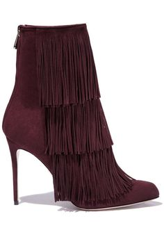Shop the best bordeaux bags, shoes and jewelry for fall - Paul Andrew boots.