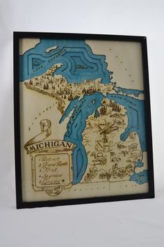 Vintage world map gift wrap world wide map wrapping paper 10 michigan topographic wood chart topographic map wall art gumiabroncs Image collections