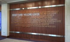 Image result for hall of fame donor wall