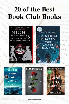 If you're looking for a book club pick that's sure to delight everyone in your group as well as foster some lively discussion, then you'll love this list of the best book club books of the decade. #books #bookclub #bookclubbooks