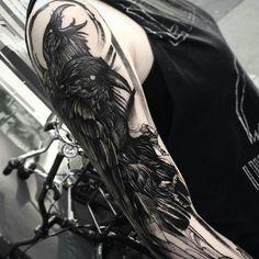Raven Tattoo..