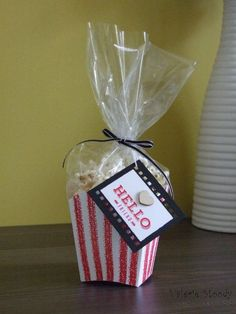That's my question for you today - When is a Fry Box not a Fry Box? Give up? When it's a Popcorn Box, of course! Still none the wiser? Then let my second video (yay!) show you what I mean! That's r...