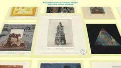 International Mini Print Exhibition Cadaques. PRIZEWINNERS  'Love Pavilion' by Kevin Jackson.